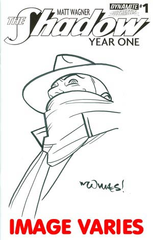 Shadow Year One #1 Incentive Wilfredo Torres Original Hand-Drawn Sketch Cover