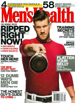 Mens Health Vol 28 #3 Apr 2013