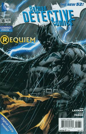 Detective Comics Vol 2 #18 Combo Pack Without Polybag