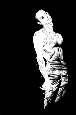 Ten Grand #1 DF Exclusive Jae Lee Black & White Virgin Cover