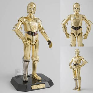 Star Wars 12 Inch PM (Perfect Model) - C-3PO Die-Cast Action Figure