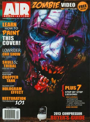 Air Brush Action Vol 28 #6 Mar / Apr 2013