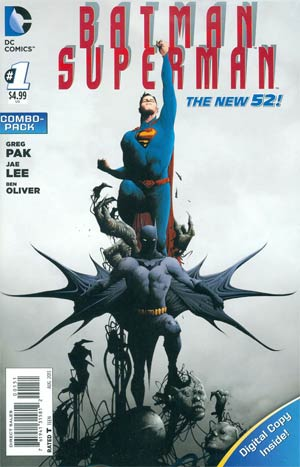 Batman Superman #1 Cover B Combo Pack With Polybag