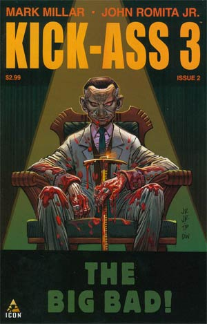 Kick-Ass 3 #2 Cover A Regular John Romita Jr Cover