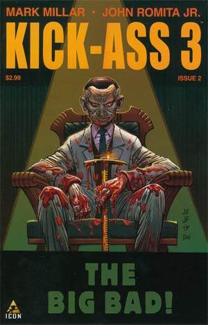 Kick-Ass 3 #2 Cover A Regular John Romita Jr Cover