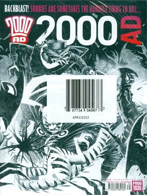 2000 AD #1835 - 1838 Pack June 2013