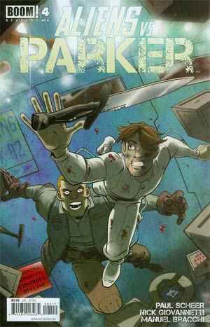 Aliens vs Parker #4