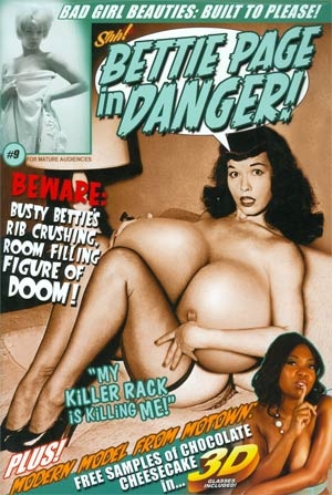 Bettie Page In Danger #9