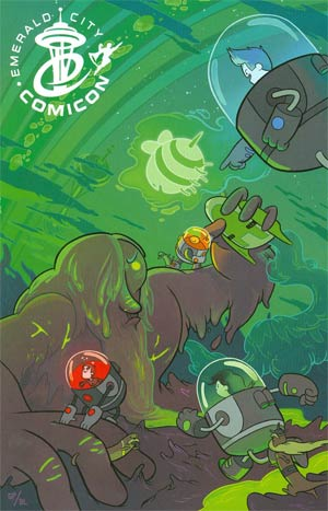 Bravest Warriors #1 Cover J Emerald City Comic-Con Variant Cover