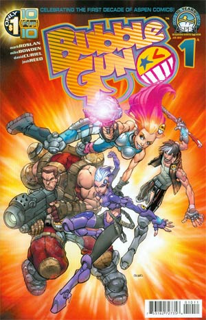 Bubblegun #1 Cover A Regular Direct Market Cover