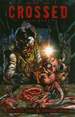 Crossed Badlands #32 Cover C Torture Cvr