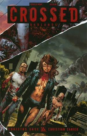 Crossed Badlands #32 Cover B Wrap Cvr