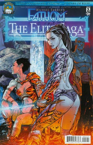 Fathom Elite Saga #2 Cover B Talent Caldwell