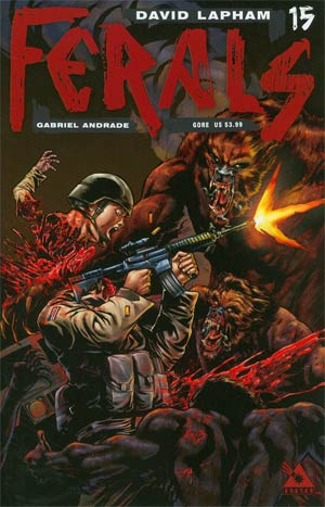 Ferals #15 Cover C Gore Cover