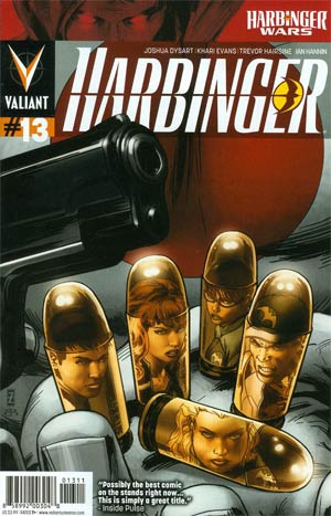 Harbinger Vol 2 #13 Cover A Regular Patrick Zircher Cover (Harbinger Wars Tie-In)
