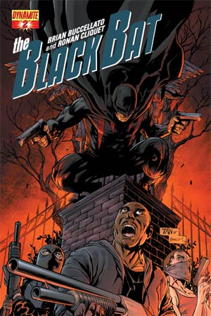 Black Bat #2 Regular Cover D Billy Tan