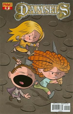Damsels #9 Cover B Variant Chris Eliopoulos Cute Subscription Exclusive Cover
