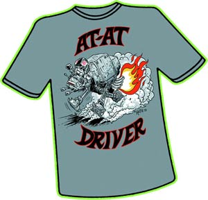 AT-AT Driver Big Daddy Hoth T-Shirt Large
