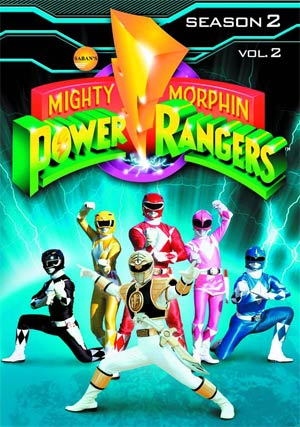Mighty Morphin Power Rangers Season 2 Vol 2 DVD