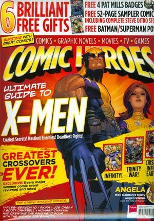 Comic Heroes Magazine #19