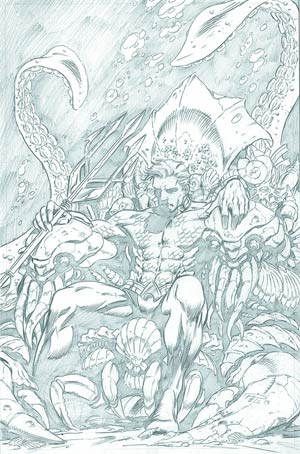 Aquaman Vol 5 #18 Incentive Paul Pelletier Sketch Cover