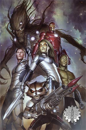 Guardians Of The Galaxy Vol 3 #1 Cover I Limited Edition Comix Exclusive Adi Granov Variant Cover