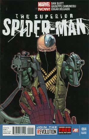Superior Spider-Man #4 2nd Ptg Giuseppe Camuncoli Variant Cover