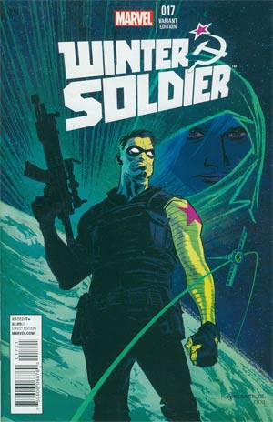 Winter Soldier #17 Incentive Chris Brunner Variant Cover