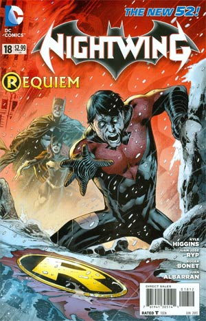 Nightwing Vol 3 #18 2nd Ptg