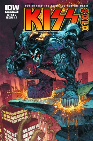 KISS Solo #1 The Demon Incentive Demon Photo Variant Cover
