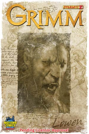 Grimm #2 Cover C Midtown Exclusive Lowen Variant Cover