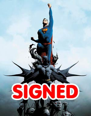 Batman Superman #1 DF Signed By Greg Pak