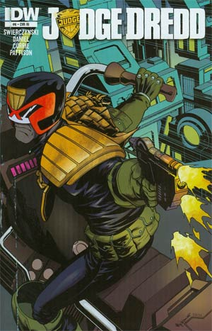 Judge Dredd Vol 4 #6 Incentive Mike McKone Variant Cover