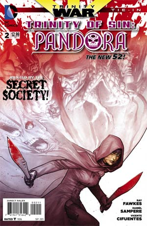 Trinity Of Sin Pandora #2 Cover A 1st Ptg Regular Ryan Sook Cover (Trinity War Tie-In)