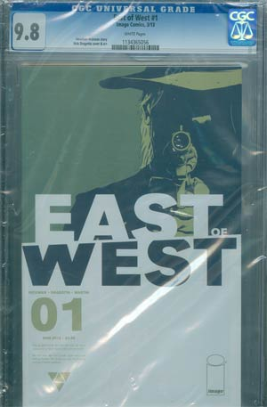 East Of West #1 Cover E DF CGC 9.8