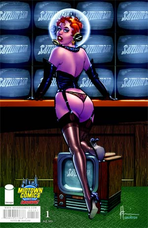 Satellite Sam #1 Cover B Midtown Exclusive Howard Chaykin Color Variant Cover
