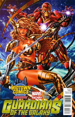 Guardians Of The Galaxy Vol 3 #5 Cover E Midtown Exclusive Mark Brooks Angela Variant Cover