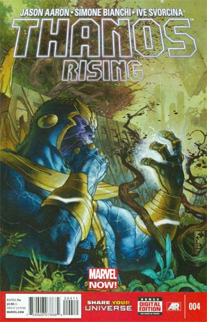 Thanos Rising #4 Cover A Regular Simone Bianchi Cover (Infinity Prelude)