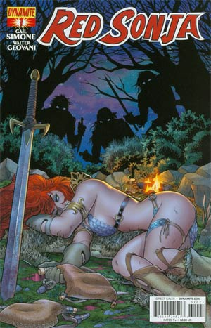 Red Sonja Vol 5 #1 Cover B Variant Amanda Conner Cover