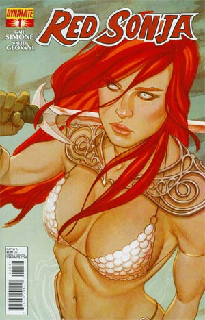 Red Sonja Vol 5 #1 Cover D Variant Jenny Frison Cover