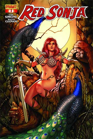 Red Sonja Vol 5 #1 Cover E Variant Colleen Doran Cover