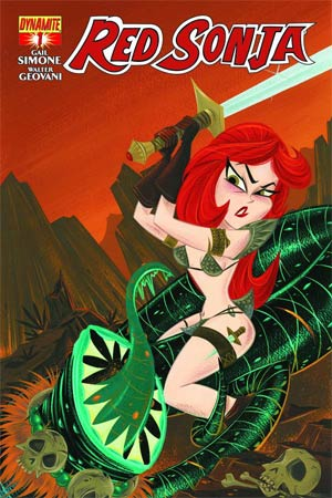 Red Sonja Vol 5 #1 Cover F Variant Stephanie Buscema Subscription Cover