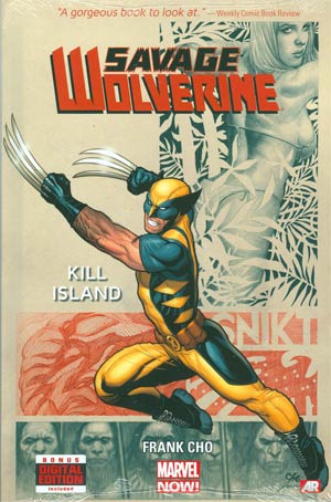 Savage Wolverine Vol 1 Kill Island HC