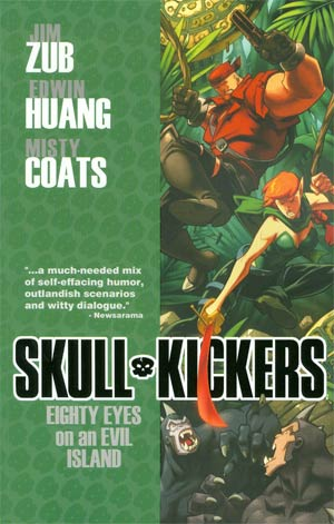 Skullkickers Vol 4 Eighty Eyes On An Evil Island TP