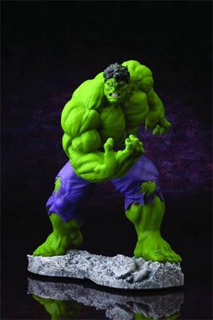 Classic Avengers Hulk Fine Art Statue