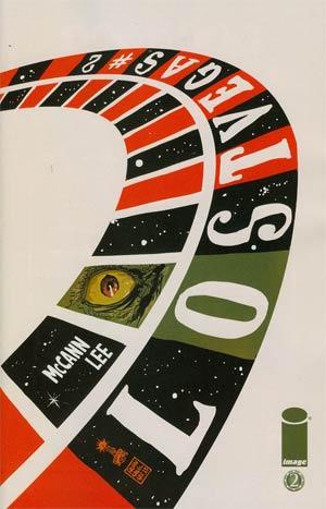 Lost Vegas #2 Incentive Francesco Francavilla Variant Cover