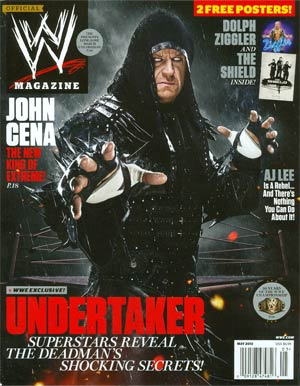 WWE Magazine #88 May 2013