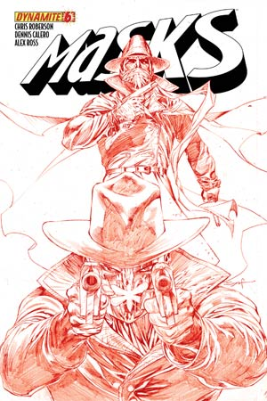 Masks #6 High-End Ardian Syaf Blood Red Ultra-Limited Cover (ONLY 25 COPIES IN EXISTENCE!)