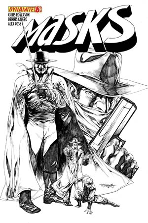 Masks #6 High-End Stephen Segovia Black & White Ultra-Limited Cover (ONLY 100 COPIES IN EXISTENCE!)
