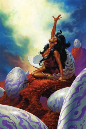 Warlord Of Mars #24 High-End Joe Jusko Virgin Art Ultra-Limited Cover (ONLY 50 COPIES IN EXISTENCE!)